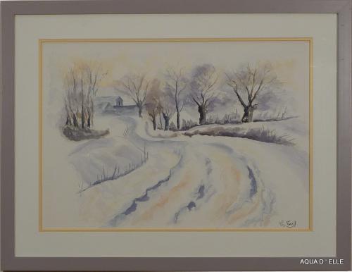 38-Paysage de neige-(60x45)