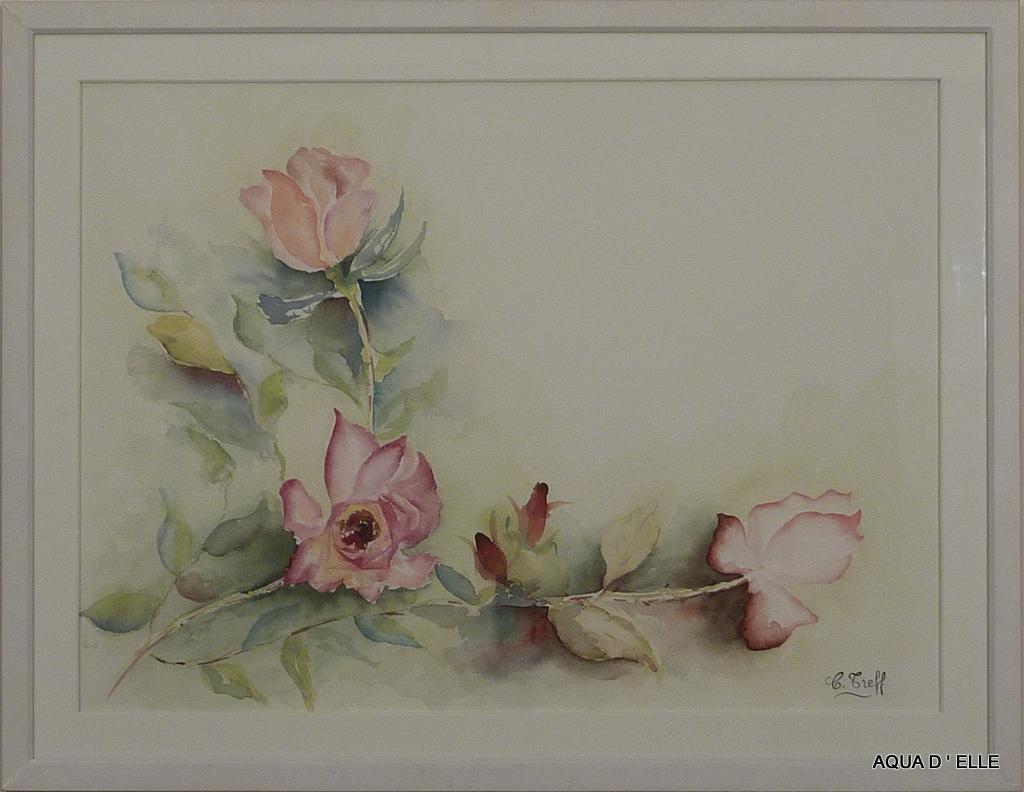 67-Guirlande de roses-(60x46)