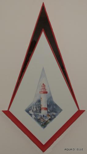 Phare rouge-(36x70)